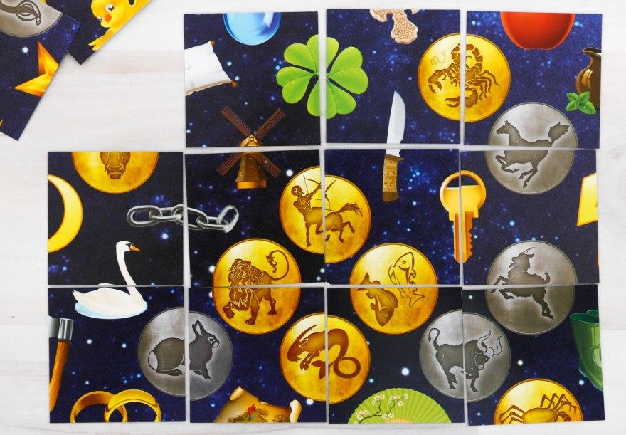 Какие символы встречаются в готическом пасьянсе?